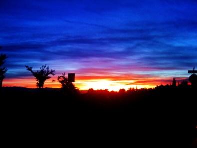 dawn over the sierras