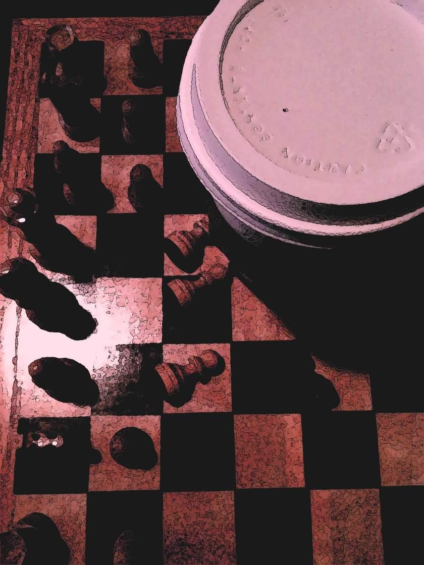fallen cup