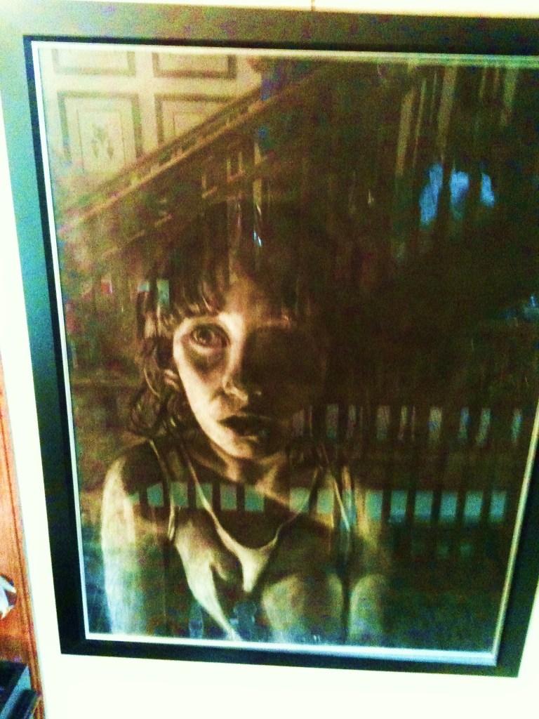 Captive in the frame