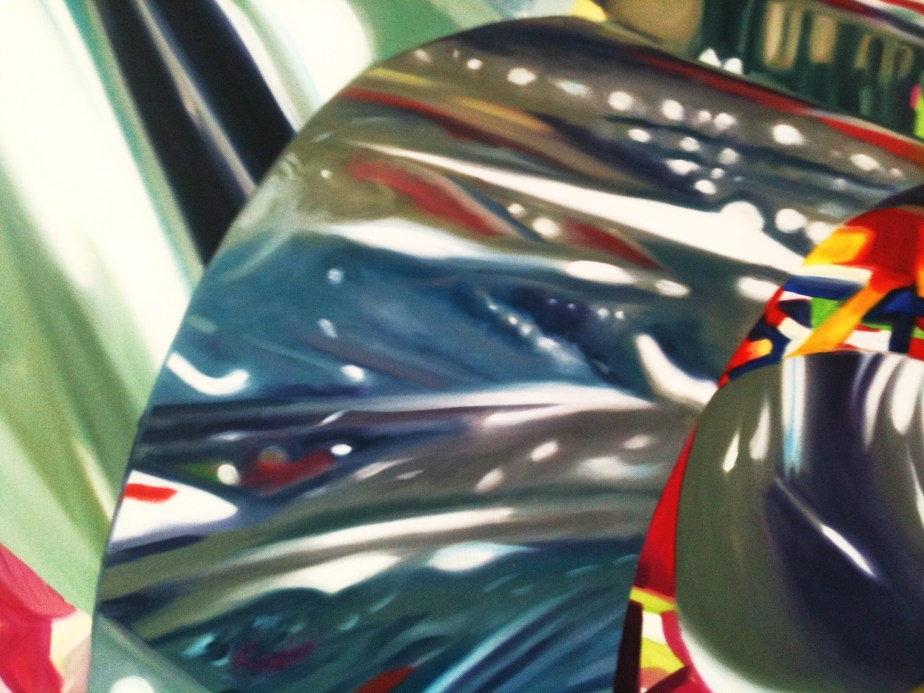 """Spectator - Speed of Light"" Oil by James Rosenquist"