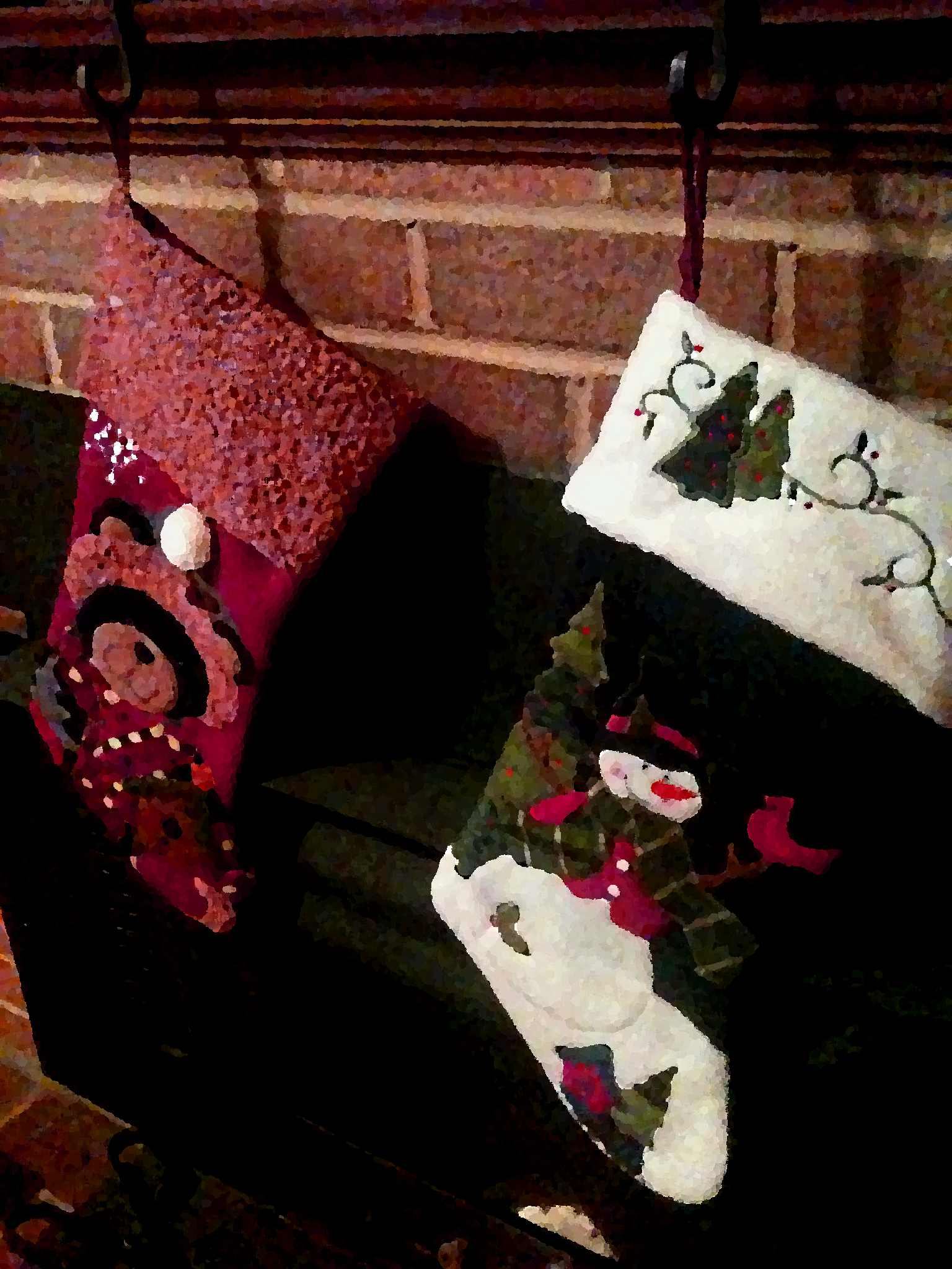 the stockings were hung