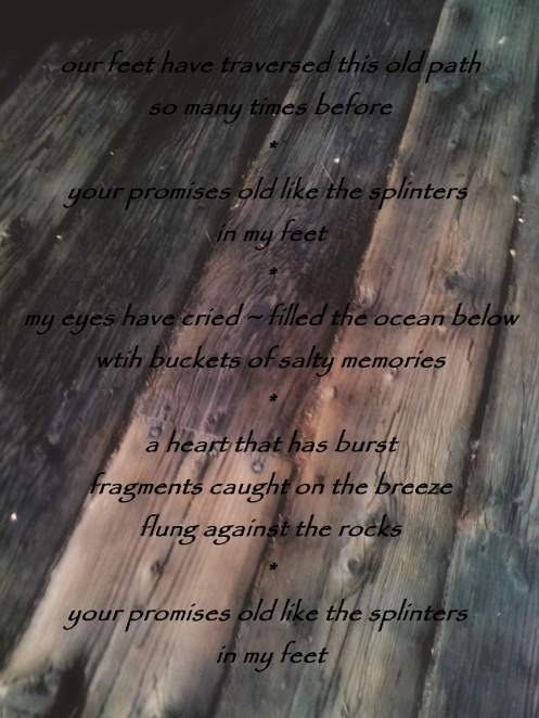 Splinters In My Feet #photography #poetry #atoz #napowrimo