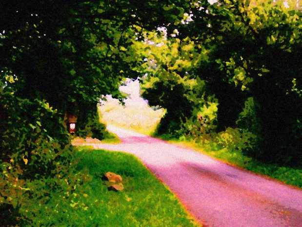The Pixie Path painted