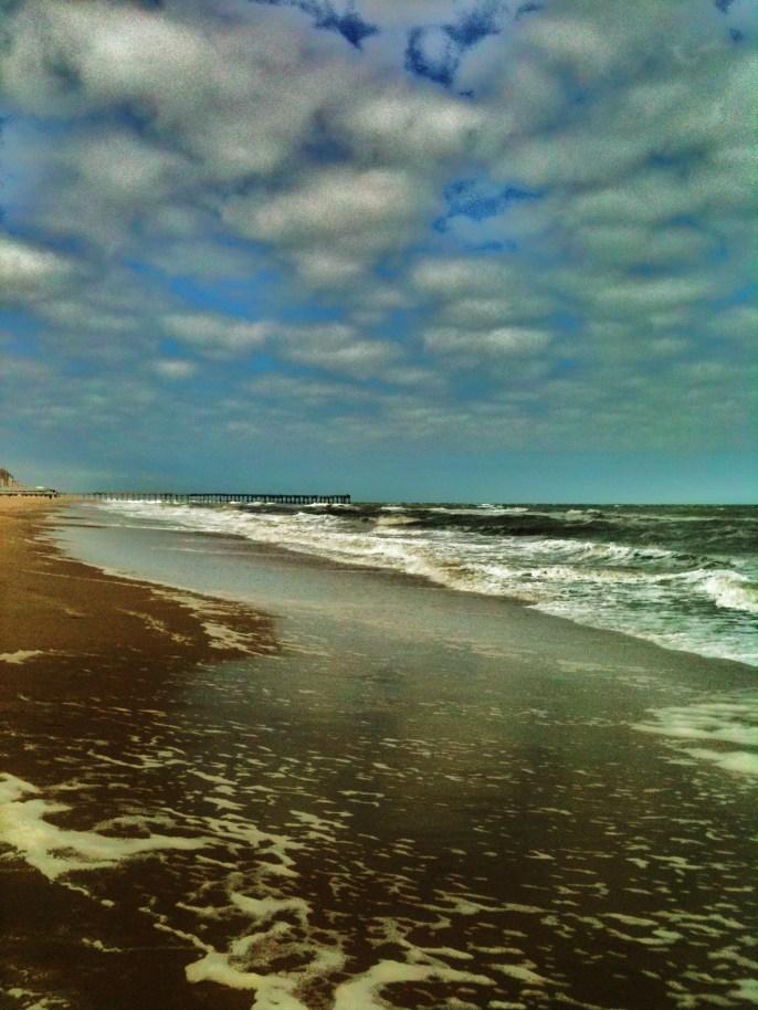 receeding tide