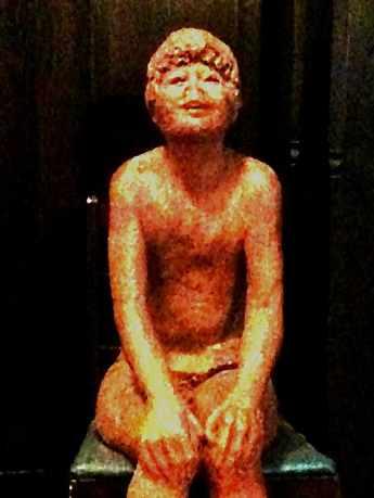 child sculpture