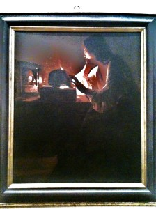 Repentant Magdalene - De La Tour 1640 oil