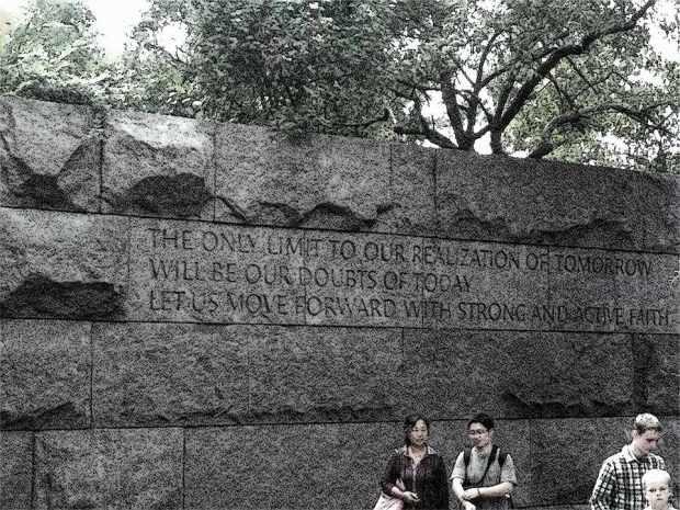Roosevelt quote pen