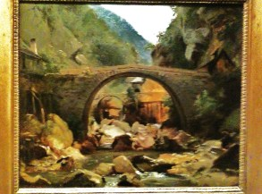 Mountain stream in the Auvergn ~ Rousseau 1830 Oil