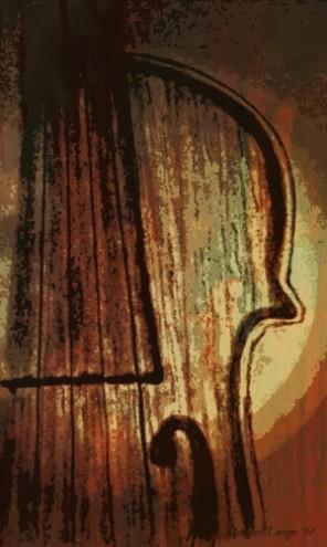 violin fini by L. Moon