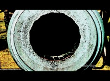 mouth of a cannon