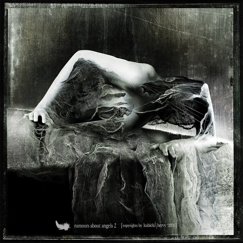 decaying woman