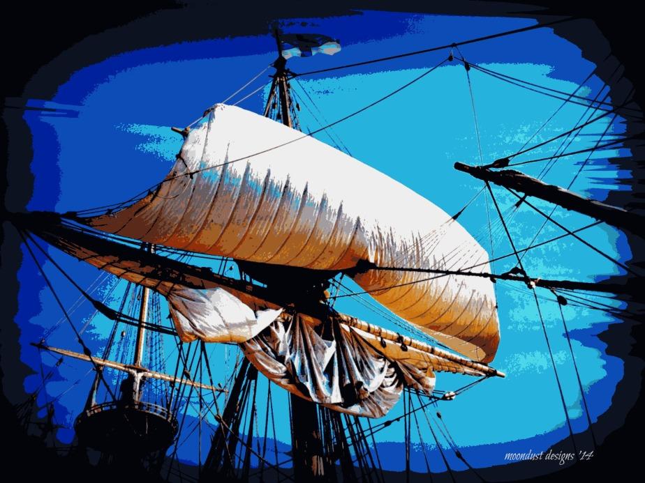 posterized sail