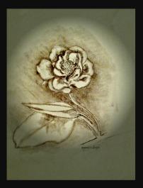 rose logo matted