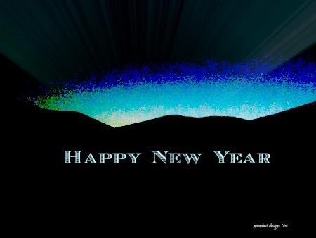 new year dawn
