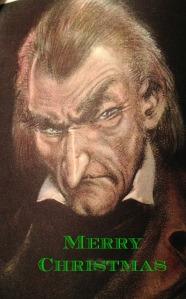 Scrooge Merry Christmas