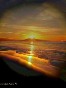 dawn waves