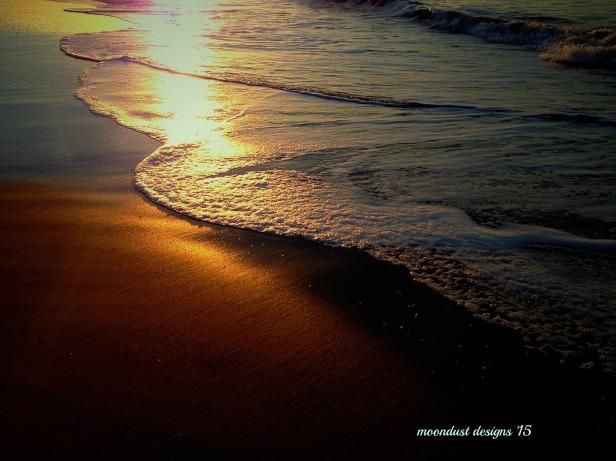 sun and wave foam