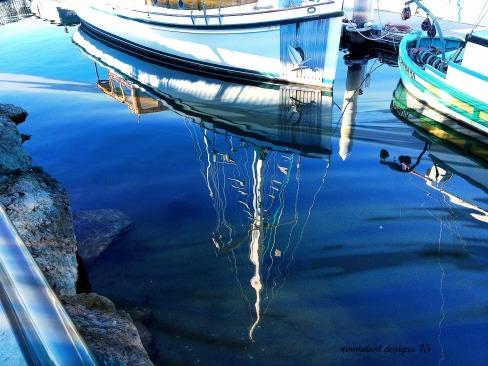 boats reflection 2