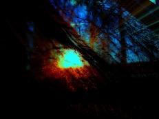 dawn behind the curtain