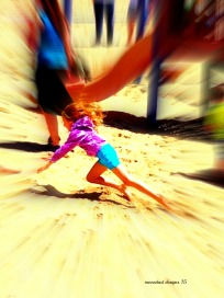 girl in the sand