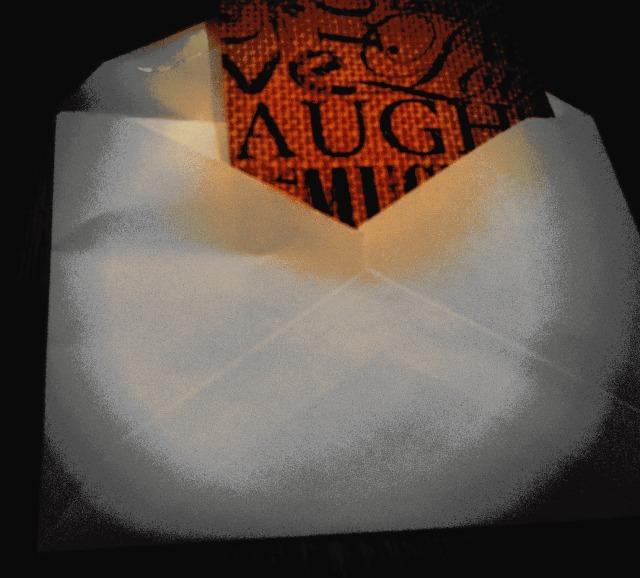 inside envelope
