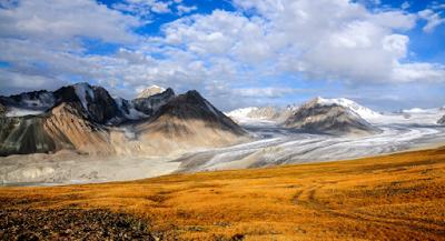 Altai Mountains view