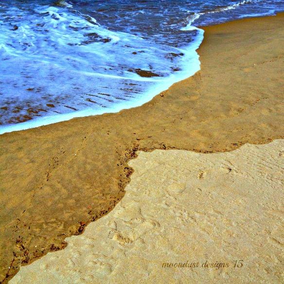 sand meet wave