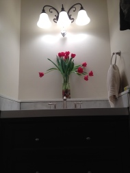 bathroom almost done