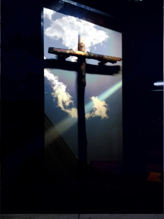 sun on cross