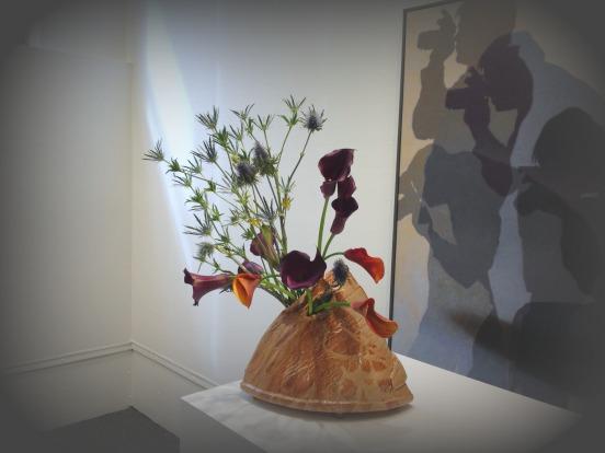 ikebana and photographer